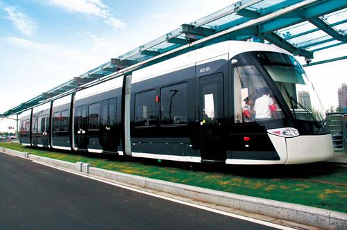 南京河西新城现代有轨电车
