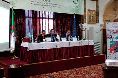 阿尔及利亚:对环境领域支援项目(PAPSE)的技术支持