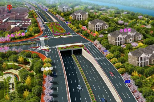 扬子江大道快速化改造工程设计